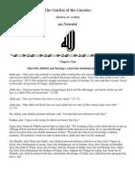 61771888 the Garden of the Gnostics by Imam an Nawawi Rahimahullah
