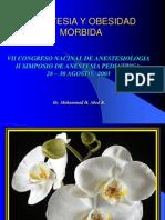 OBESIDAD MORBIDA-Congreso Anestesia 2003 Dr Abed