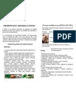 Orientações Prevenção Hipertensão
