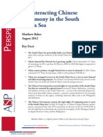 Counteracting Chinese Hegemony in the South China Sea