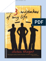 Three Mistakes of My Life