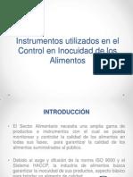 Instrumentos Utilizados en El Control en Inocuidad de Los Alimentos