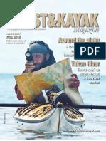 Fall 2012 Coast&Kayak Magazine