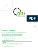 on365 Greening a Datacentre Presentation