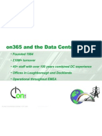 on365 & the Datacentre Presentation