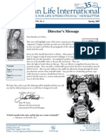 Seminarians for Life International Newsletter Spring 07 (prolife propaganda)