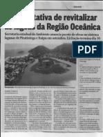 NotIcia sobre Obras nas Lagoas em 2012