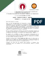 Circular 001 XIII Encuentro Iberoamericano de Cementerios Patrimoniales