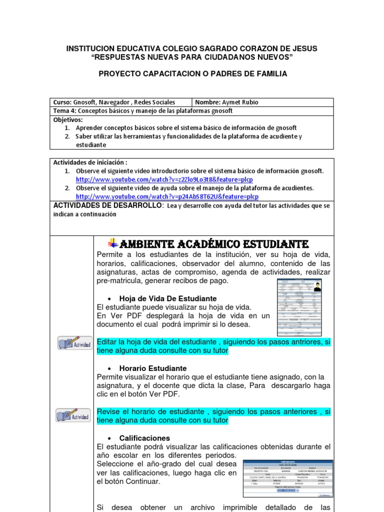 Dorable Estudiante Reanudar Muestra Pdf Viñeta - Ejemplo De ...