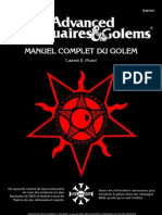 Manuel Complet Du Golem Dungeons and Dragons v2.2