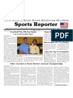 August 1 - 7 2012 Sports Reporter