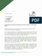 Carta Solicitud Auspicio Libro de Parrillla
