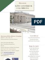 Boletín Nº2. Observatorio Política Exterior Colombiana