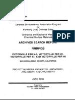 Victorville Bombing Range No. 1