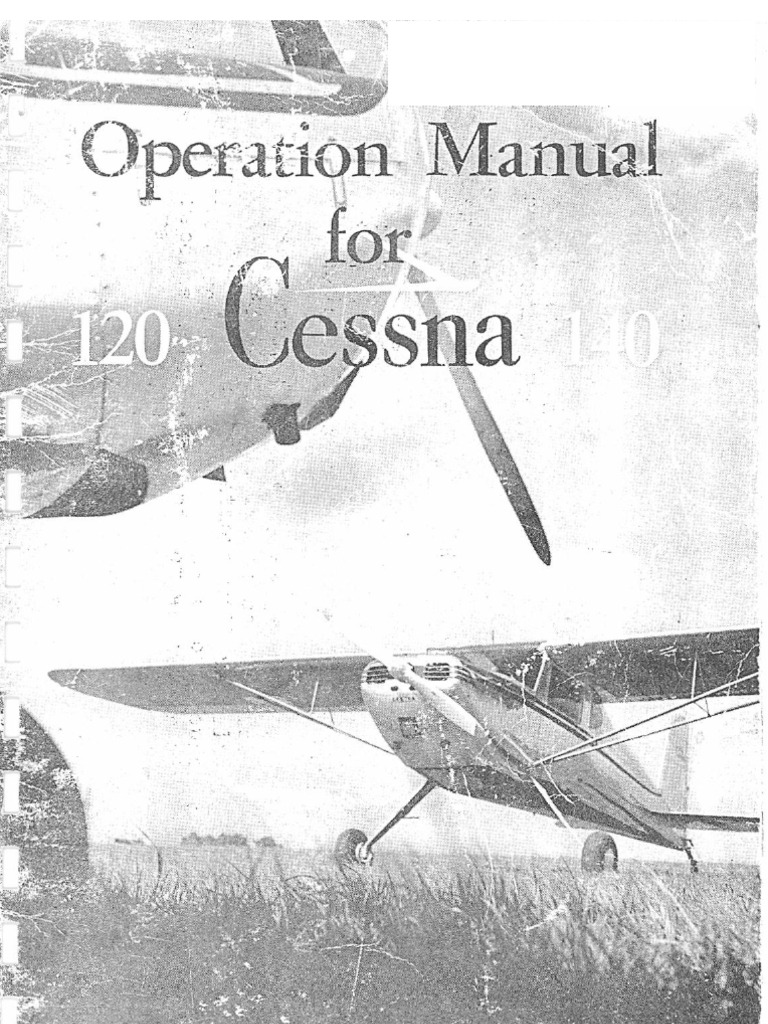 Operation Manual for the Cessna 120 and 140   Carburetor
