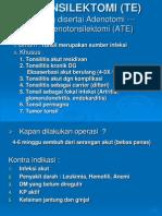38. Tonsilektomi (Te)