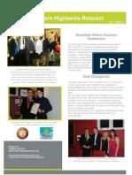 Newsletter - July 2012