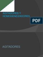 Agitadores y Homogeneizadores