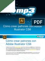 Cómo crear patrones con Adobe Illustrator CS6
