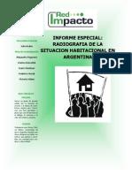 Informe Especial - Radiografia Vivienda en Argentina