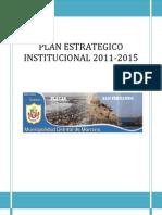 Plan Estratégico Institucional Marcona 2011-2015