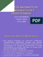 Aula10 Depósitos Magmáticos, Pós-magmáticos e hidrotermais