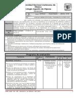 Plan y Programa de Eval Biol IV 1p 2012-2013