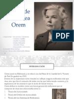 Teoría de Dorothea Orem