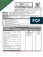 Plan y Programa de Eval Quimica IV a-i,II 1p 2012-2013