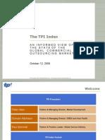 3Q06 TPI Index Presentation FINAL