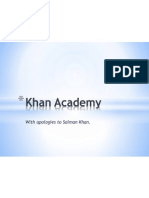 Why Khan Academy