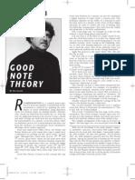 Hal Galper - Good Note Theory