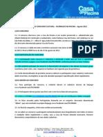 Regulamento promoção Facebook Casa da Piscina