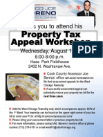 1st Ward Property Tax Workshop - Aug. 15, 2012