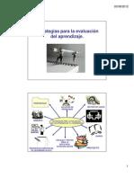 Estrategias Para La Evaluacion de Aprendizaje u3