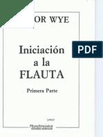 01. JPR504 - Iniciación a la flauta - Flauta traversa primera parte - Trevor Wye