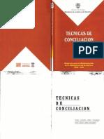 Tecnicas de Conciliacion