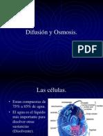Difusión y Osmosis.