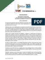 Pronunciamiento Sobre _GRUPO-COLINA