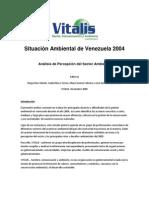 Situación Ambiental de Venezuela 2004