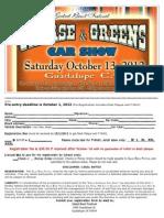 grease  greens registration form 2012