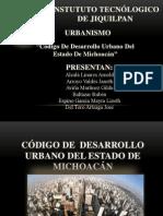 Cod. Des. Urbano
