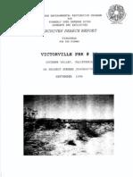 Victorville Bombing Range No. 13