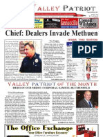 The Valley Patriot, August 2012