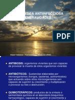 Generalidades de terapéutica antiinfecciosa