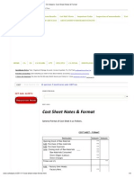 CA Helpers_ Cost Sheet Notes & Format