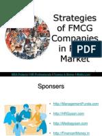 Strategies Off Mcg Companies in Rural Market