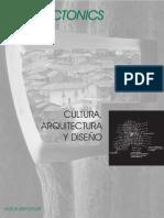 Cultura, arquitectura y diseño (Rapoport)