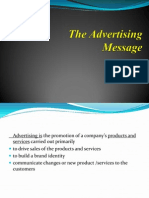 Advertising Message