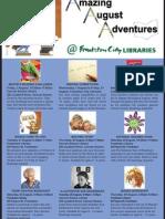 Book Week Activities - August 2012Final Draft